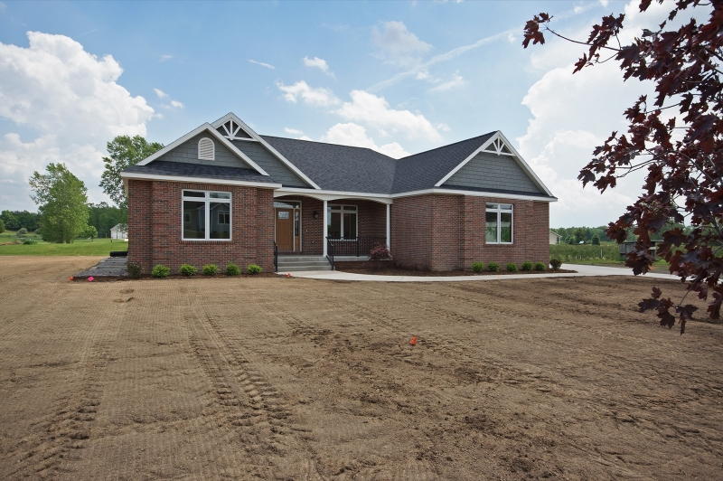 East Lansing Home Builders - 2018 Parade Home - Exterior