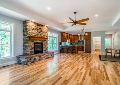 East Lansing Home Builders Living Room 19702886