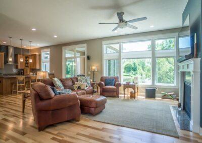 East Lansing Home Builders Living Room 35300530